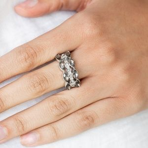 Distractingly Demure - Silver Ring